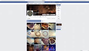 ecrã facebook